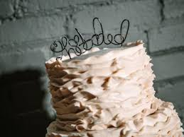 wire cake toppers how to make a wire cake topper how tos diy