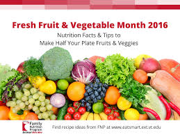 fruit of the month national fresh fruit vegetable month eat smart move more