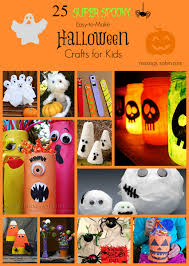 Halloween Crafts To Make At Home - 25 spooky easy to make halloween crafts for kids craft