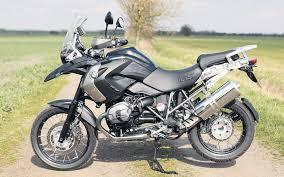 bmw gs 1200 black bmw r1200gs black ride mcn