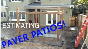 Estimate Paver Patio Cost by How To Estimate Cost Paver Patios 7 000 In 3 Days