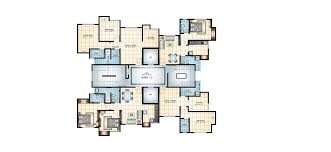Estella Gardens Floor Plan 1 U0026 2 Bhk Flat Apartment In Ghodbunder Road Thane West Mahavir