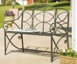Garden Treasures Patio Bench Aluminum Patio Benches Foter