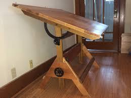 Adjustable Drafting Table Hardware Modern Vintage Anco Bilt Drafting Table Appraisal Instappraisal