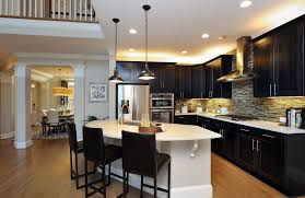 the bradley model kitchen with oversized island raleigh nc