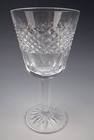 waterford crystal l base amazon com waterford crystal cara cut base claret wine glass es