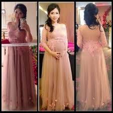 plus size blush wedding dresses blush maternity wedding dresses 3 4 sleeve bridal gown