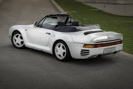 one off porsche 959 convertible up for sale