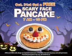 Pancake Halloween Costume Halloween Freebies Discounts Events Wral