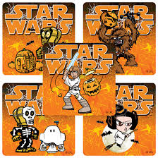 star wars halloween stickers from smilemakers
