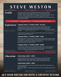 Modern Resumes Templates 39 Best Photoshop Resume Templates Images On Pinterest Resume