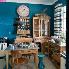 Bleu Canard Peinture by Relooking En Couleur Pour Une Grande Cuisine Ancienne
