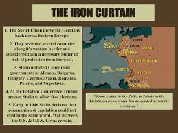Eastern Europe Iron Curtain Europe And Eastern Europe Test Review