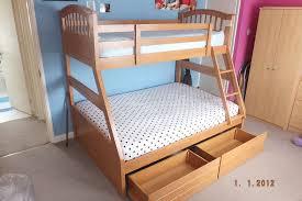 Joseph International Maple Three Sleeper Triple Bunk Bed With - Joseph bunk bed
