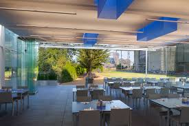 Glass Walls by Cal Academy U0027s New Outdoor Cafe Features Bird Safe Nanawall