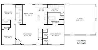 simple open house plans simple rectangular house plan amazing chic 3 simple rectangular 4