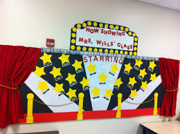 Classroom Theme Decor Interior Design Best Hollywood Themed Classroom Decorations