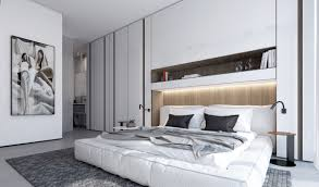 white bedroom concept ideas that can produce relaxing feel