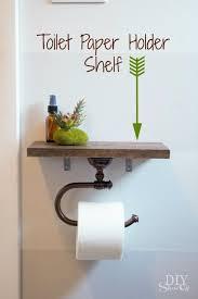 diy bathroom decor ideas toilet paper holder with shelf cool do it yourself bath ideas on a budget rustic bathroom fixtures creative wall art rugs