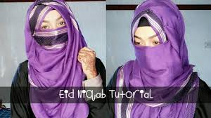 niqab tutorial on dailymotion eid special most requested niqab tutorial pari zaad video