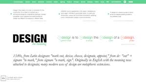 what does design to you