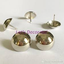 Tack Upholstery 25mm 25mm Nickel Plated Decoration Tack Upholstery Tack Shoes