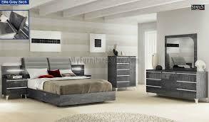 Birch Bedroom Furniture Elite Grey Birch Bedroom Set By Esf