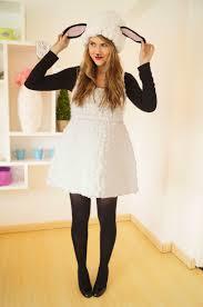 the joy of fashion halloween cute homemade lamb costume