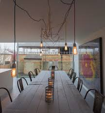 large bulb hanging lights patio farmhouse with backyard modern