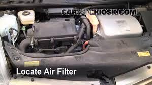 2005 toyota engine air filter how to 2004 2009 toyota prius 2005 toyota prius 1 5l