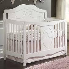 Baby Furniture Convertible Crib Sets Storkcraft 2 Nursery Set Princess 4 In 1 Fixed Side