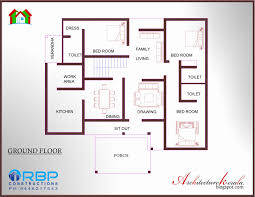 2 Bedroom House Plans In Kerala Awesome House Plan Two Bedroom