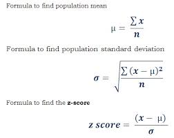 Normal Distribution Z Score Table Z Score Or Standard Value Calculator