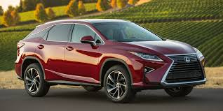 red lexus 2018 2018 lexus rx vehicles on display chicago auto show