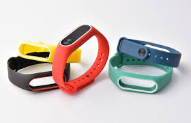 silicone strap bracelet images Miband 2 silicone wrist strap bracelet double color replacement jpg