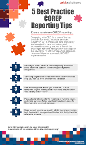 solvency ii reporting templates 5 best practice corep reporting tips infographic arkk solutions 5 corep reporting tips infographic