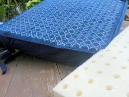 Memory Foam Chair Pad Chair Cushions In Indigo Batik With Eco Friendly Inserts Siamese