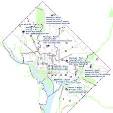 Zoning Map Dc Community Meeting Locations Map Zoningdc
