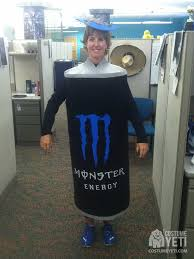 Yeti Halloween Costume Monster Energy Drink Costume Costume Yeti