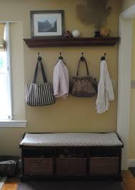 Diy Entryway Bench With Storage Diy Entry Bench Cushion Cover Removable Slipcover Things Id