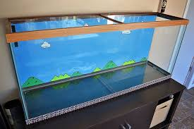 building a new mario bros lego aquarium advanced aquarist