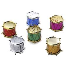 miniature holographic drum ornaments ornaments