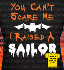 too funny halloween navy shirts for sailor mom u0027s