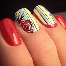 50 rose nail art design ideas nenuno creative