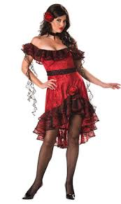 Super Deluxe Halloween Costumes Super Deluxe Spicy Senorita Costume Mexican Spanish Costumes