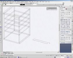 turbocad drawing a kitchen cabinet in 3d youtube