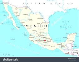 map usa rivers mexico political map with capital city national borders and rivers