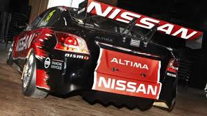 nissan altima 2013 video nissan altima v8 supercar hits the track video