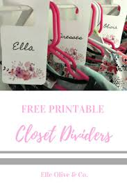 Baby Clothes Dividers Best 25 Closet Dividers Ideas On Pinterest Baby Closet Dividers