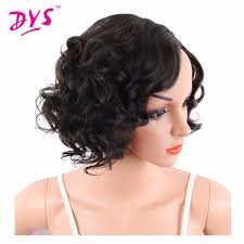 short black wavy hair promotion shop for promotional short black